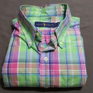 Ralph Lauren L/S button down shirt, sz L